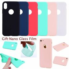 FILM+ ULTRA THIN CANDY PASTEL COLOR SOFT RUGGED Back Case Cover For Apple iPhone