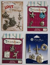 BLUE MOON CHARM ASSORTMENT OCEAN/FISH, SEA LIFE, FROGS, TRAVEL - NEW YOUR CHOICE