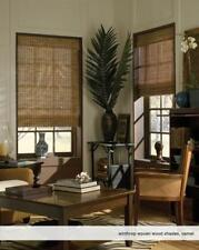 """Woven Wood Roman Shades, 42 to 44 Inches Wide, Any size from 18""""-72"""" Wide"""