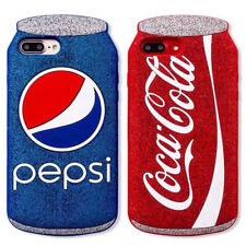 Silicon Cocacola Can Shape Silicon Case Cover Skin Shell for iPhone 6 6S 7 Plus