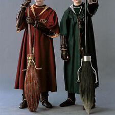 Harry Potter Hogwarts Cape Cloak Robe Quidditch Cosplay Costume Party FancyDress