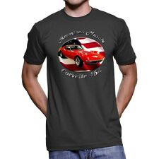 Chevy Corvette 454 American Muscle Men`s Dark T-Shirt