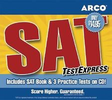 SAT TestExpress by Peterson's Guides Staff and Arco Staff  Book and CD-Rom NEW
