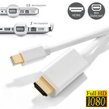 Mini DisplayPort Thunderbolt to HDMI TV Adapter Cable F MacBook Pro Air, Surface