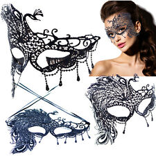 New Peacock Victorian Venetian Masquerade Lace Elegant Eye Mask Costume Tempting