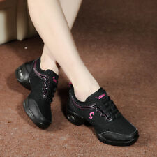 Women New Comfy Athletic Sneakers Jazz Hip Hop Square Dance Breathable Net Shoes