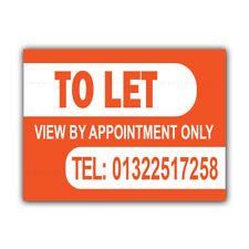 TO LET Correx Sign Boards Estate Agent Property House Signs X 2 (CORCP00009)