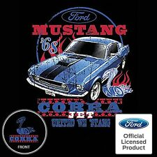 1968 Ford Mustang T Shirt Cobra Jet 428 Shelby Muscle Car Mens S to 6XL and Tall