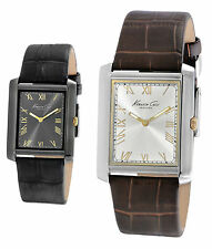 Brand New Kenneth Cole New York KC1902 KC1903 Classic Leather Watch