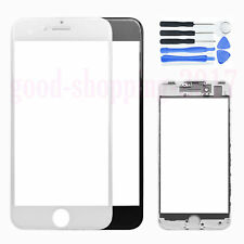 """Front Outer Screen Glass Lens + Frame Bezel Replacement Parts For iPhone 7 4.7"""""""