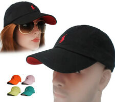 Fine Embroidery Polo Small Pony Classic Baseball Cap Outdoor Sun Hat Men Women