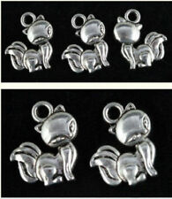 Wholesale Lot two-sided Fashion beautiful sexy Animal fox Jewelry Charm Pendants