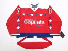 BRADEN HOLTBY WASHINGTON CAPITALS AUTHENTIC THIRD REEBOK EDGE 2.0 7287 JERSEY