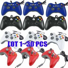 30Pcs/lot  Wired USB Game Pad Controller For Microsoft Xbox 360 PC Windows BT
