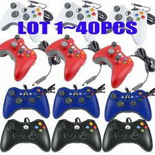 40Pcs/lot  Wired USB Game Pad Controller For Microsoft Xbox 360 PC Windows BT