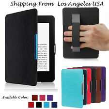 Premium Leather Slim Skin Smart Case Cover For Amazon Kindle Paperwhite 1/2/3