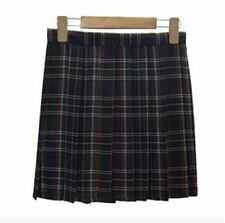 Solid Color New Fashion Summer High Waist Pleated Short Skirt For Women