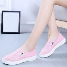 Woman Platform Breathable Casual Slip On Flats Soft Shoes Size 35-40