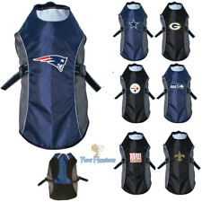 NFL Fan Gear Dog Jacket Coat Water Resistant Reflective for Dogs -PICK YOUR TEAM