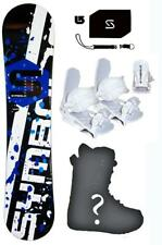 154 Symbolic Womens Snowboard+Bindings+Boots+Stomp+Leash+burton dcal$650 Package