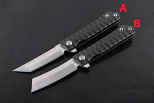 New Folding Knife Tanto Blade Kwaiken Bearing D2 Knife Hunting Pocket Knives EDC