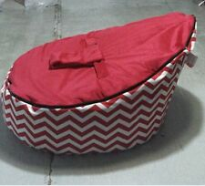 Red/Bule/Black Baby infant Bean Bags Snuggle seat bed 2 upper layer No Fillings