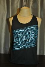 DC SHOES MENS BLACK GRAPHIC TANK TOP SHIRT ADYKT00212 NWT
