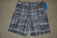 Under Armour Fish Hunter Cargo Mns Shorts 1244207 040 Plaid Gray/Black NWT