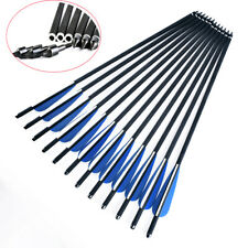 "3/6/12/24PK 16""Bolts Carbon Arrows for crossbow Archery shooting Dead Strike BL"
