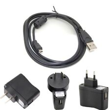 1A USB AC/DC Wall Battery Power ChargerAdapter For FujifilmFinepix T400 Camera