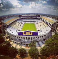 LSU Tigers vs Auburn Football- WEST STADIUM CLUB SEATS + Parking Pass