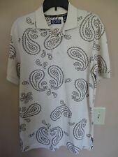 NWT Chaps Men's Size Small Floral Polo Shirt MSRP $50.00