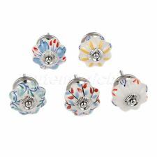 Luxury Ceramic Drawer Knobs Furniture Cabinet Cupboard Door Pull Handles Round