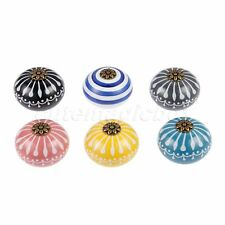 Classic Ceramic Knobs Drawer Pulls Kitchen Furniture Cabinet Dresser Door Handle