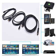 Micro HDMI to HDMI Male Adapter Converter Cable for Droid EVO HTC 4G 1080P LL1