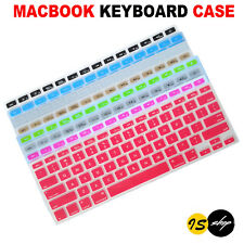 """New Soft Colorful Keyboard Skin Case Cover for Apple Macbook Air Pro 13.3"""" 15.4"""""""