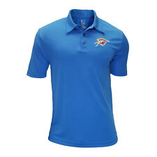 Authentic NBA Oklahoma City Thunder TX3 Cool Polo Shirt with Embroidered Logo