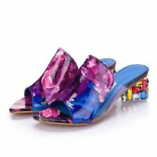 Solid Color Casual Wear Summer New Fashion High Heel Sandal For Women
