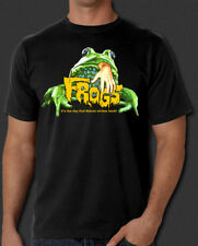 Frogs 1972 horror cult movie vintage Retro New T-shirt S-6XL