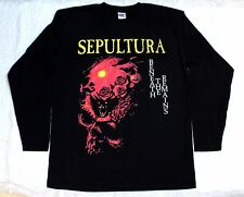 SEPULTURA BENEATH THE REMAINS'89 SOULFLY  LONG SLEEVE T-SHIRT (S-XXL)
