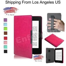 Thin Premium Leather Skin Smart Case Cover For Amazon Kindle (7th Generation)