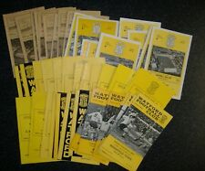 Watford Programmes 1959-1969 - Select Your Own **FREE POSTAGE IN UK**
