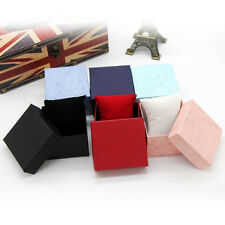 Hot! Present Gift Boxes Case For Bangle Jewelry Ring Earrings Wrist Watch Box RS