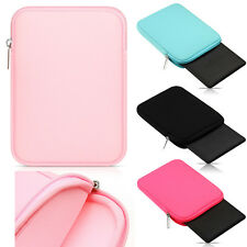 "Universal Zipper Soft Sleeve Pouch Carry Bag Case Cover For 7"" - 8"" Tablet PC"