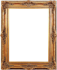 """7.75"""" fancy Gold Ornate Oil Painting Wood Picture Frame 223G"""