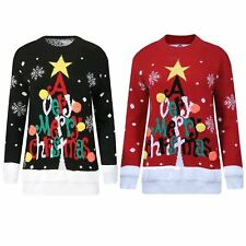 Xmas Unisex Christmas Jumper Sweater Retro Novelty Vintage Ladies Mens  New