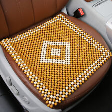 Wooden Beaded Car Seat Cover Cushion Pad Massage Cool Pad Office Chair Cushion