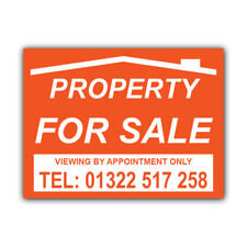 Property For Sale Correx Sign Boards Estate Agent House Signs X 2 (CORCP00041)