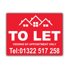 House To Let Correx Sign Boards Estate Agent Property Signs X 2 (CORCP00046)