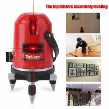 Automatic Level Instrument Laser Level 5 Lines 6 Points 635nm 360 Self Rotary OH